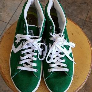 Green Lunarlon Converse All Star Sneakers